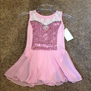 Other - Size 4 Dance Dress Up Leotard W/ Skirt Costume NWT